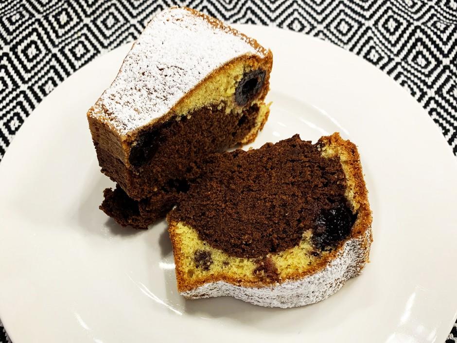 Marmor-Kirsch-Kuchen