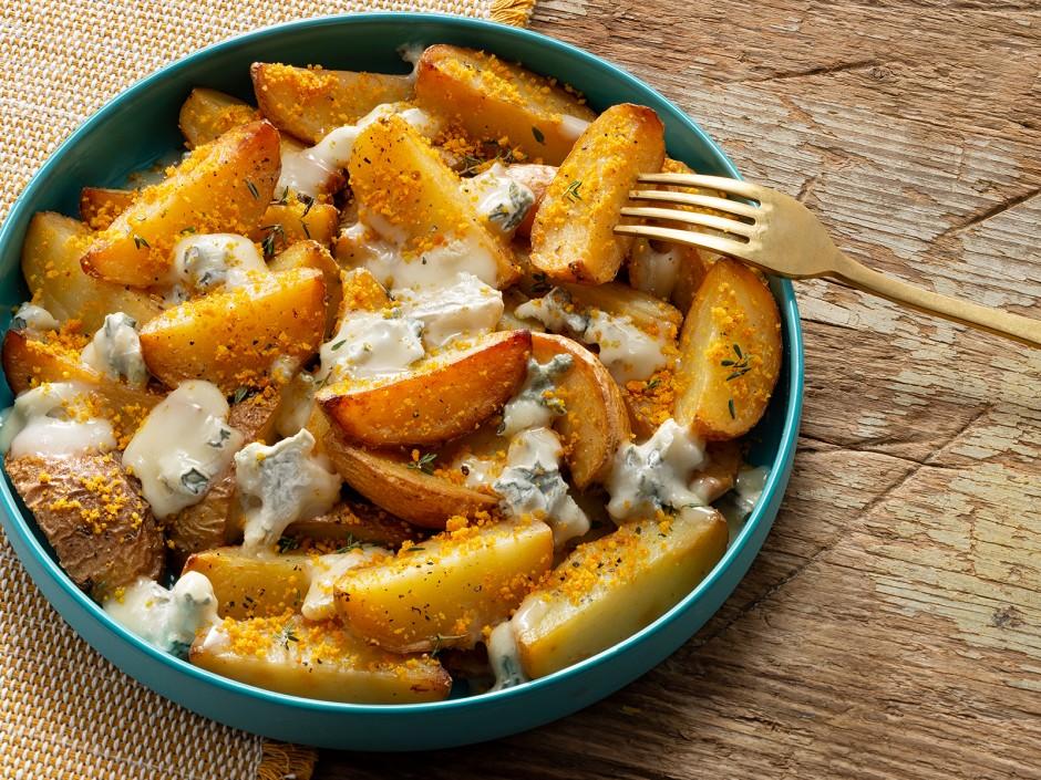 Ofenkartoffeln mit Gorgonzolasauce GU