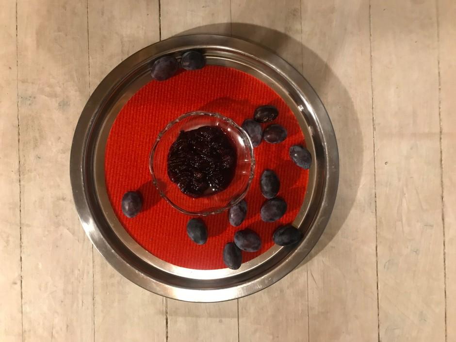 Zwetschgen-Holler-Fruchtzubereitung