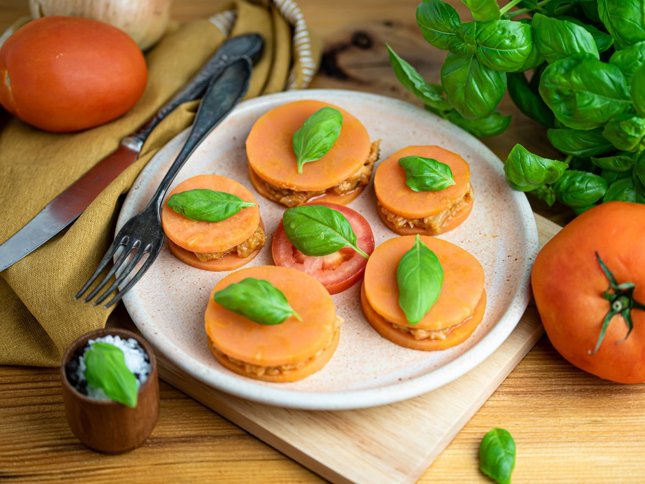 Süßkartoffel Ravioli vegan