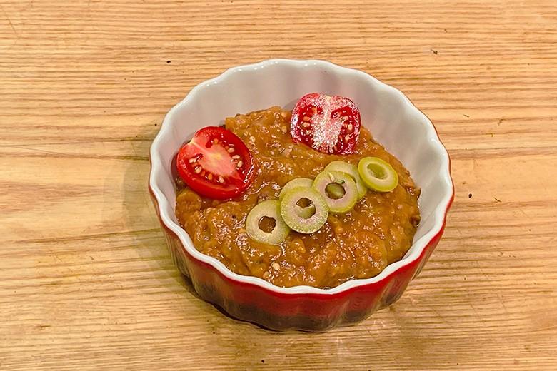 Melanzani-Tomaten-Paste