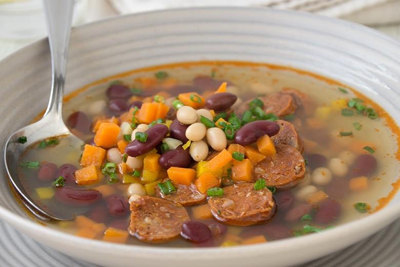 Bohneneintopf mit Chorizo