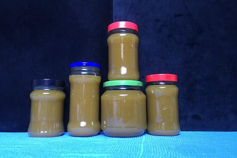 Sanddorn-Trauben-Marmelade