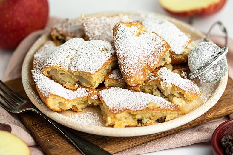 Apfelschmarren aus dem Ofen
