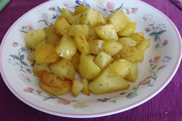 Bratkartoffeln mit Rosmarin