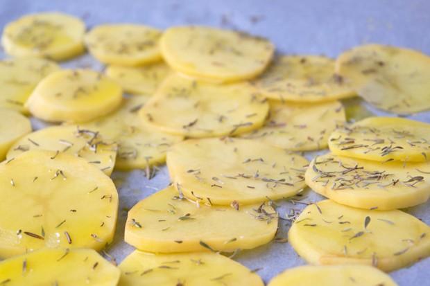 Rosmarin Knoblauch Kartoffeln