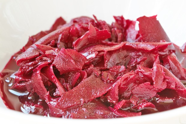 Apfel - Rote Beete Salat