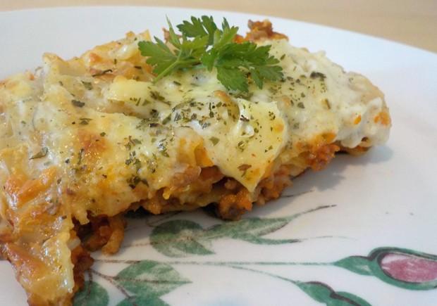 Lasagnerezept mit Bechamelsoße