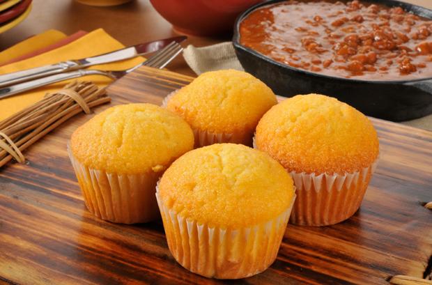 American Muffins mit Ahornsirup