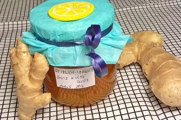 Pfirsich Ingwer Marmelade