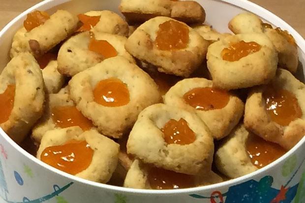 Marzipan Mürbteig Keks