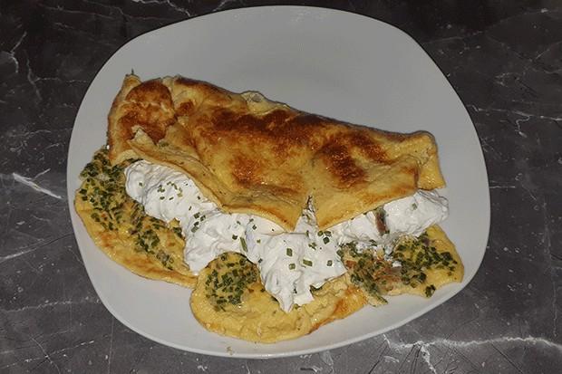 Sommer-Omelette