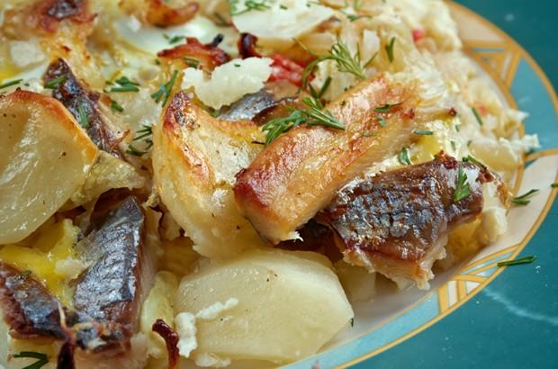 schwedischer Kartoffelauflauf