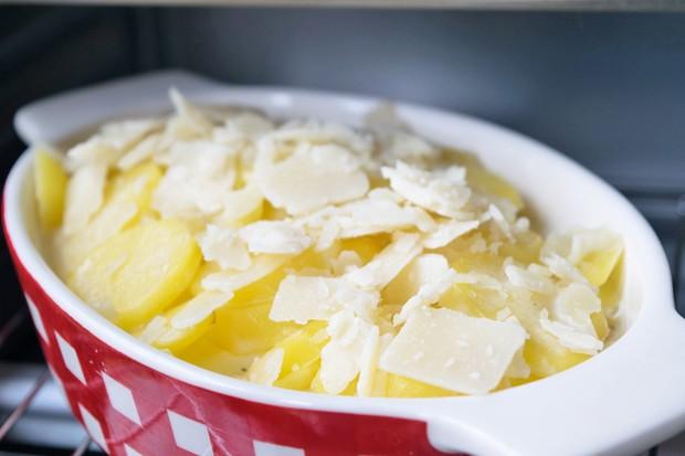 Parmesan-Sahnekartoffeln