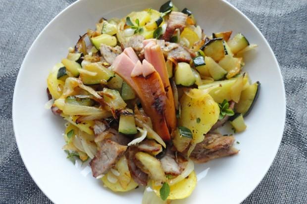 Tiroler Gröstl mit Zucchini