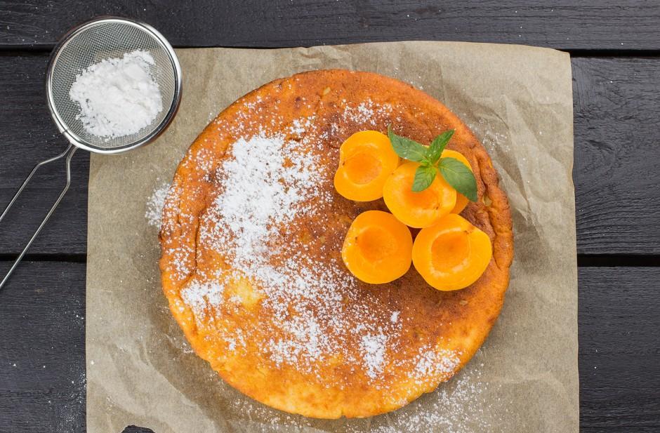 Fruchtiger Marillen-Topfen-Kuchen