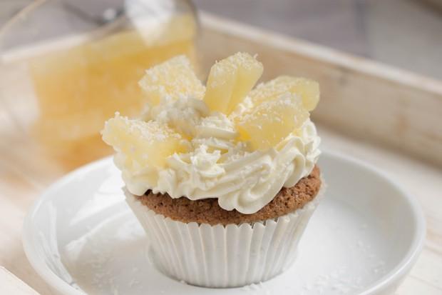 Ananas-Kokos-Cupcakes
