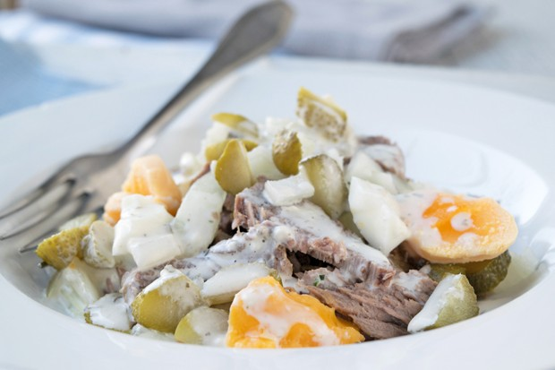 Rindfleischsalat aus Frankreich
