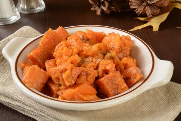 Süßkartoffelauflauf