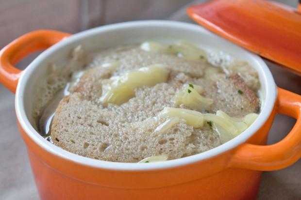 Käsesuppe mit Greyerzer