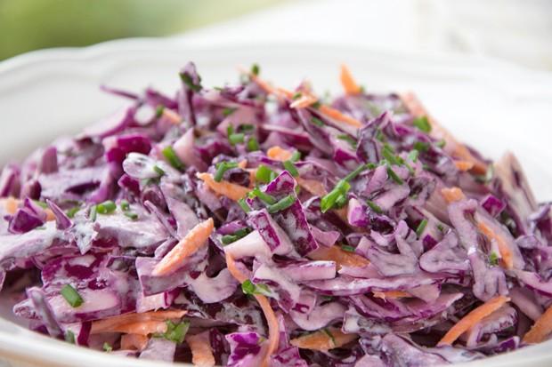 Kohlsalat mit Limettendressing