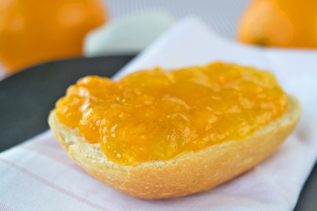 Orangen-Kürbisgelee