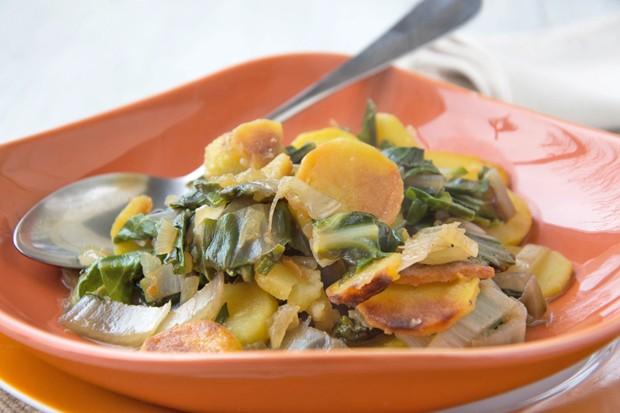 Kartoffel-Mangold-Gemüse