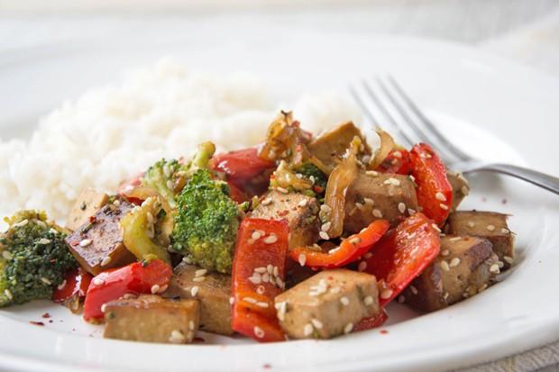 Tofu-Gemüsepfanne