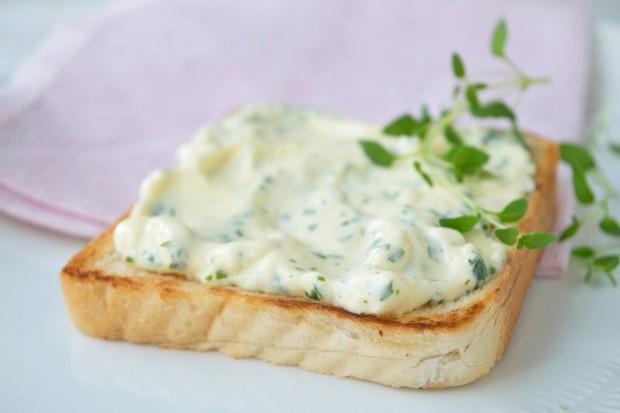 Toast mit Gorgonovacreme