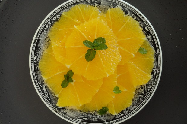 Orangensalat
