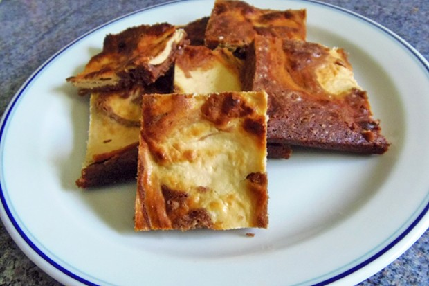 Topfen-Marmor-Brownie