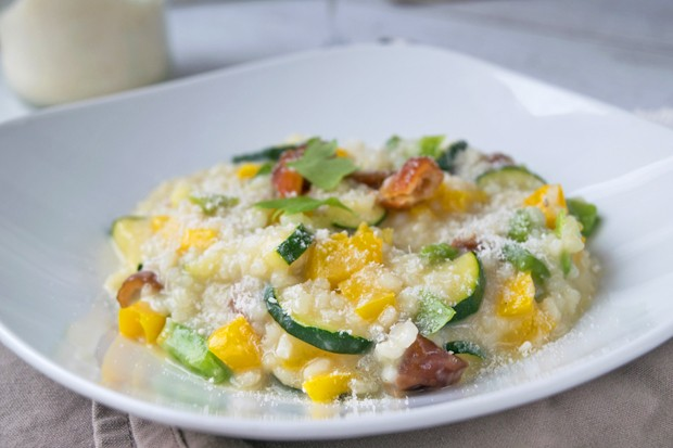 Dattel-Risotto