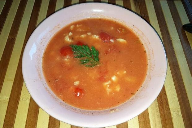 Köstliche Fischsuppe