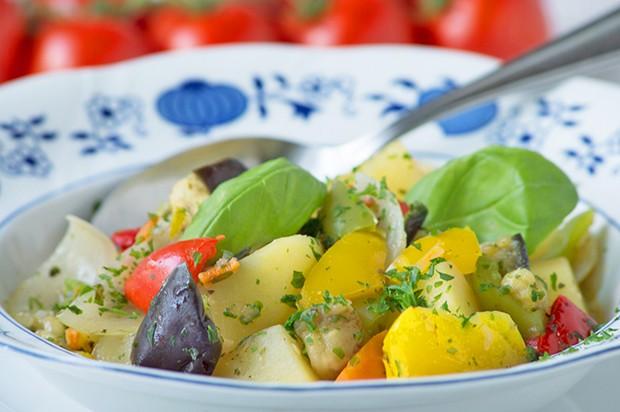 Herzhafte Gemüsepfanne