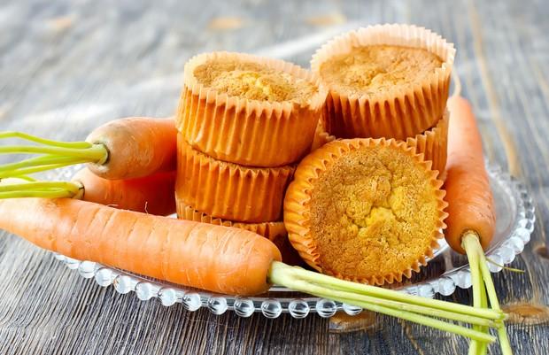 Karottenmuffins