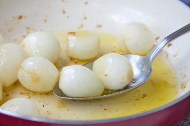 Glasierte Zwiebeln