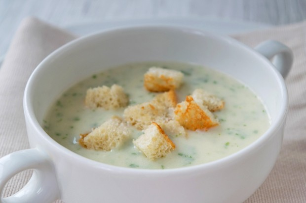 Kerbelsuppe