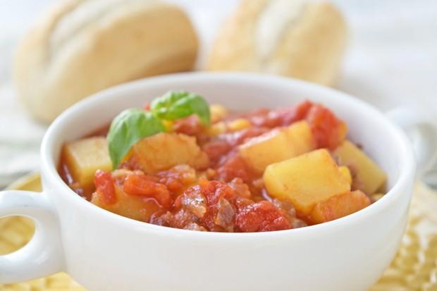 Mexikanische Kartoffel-Mais-Pfanne