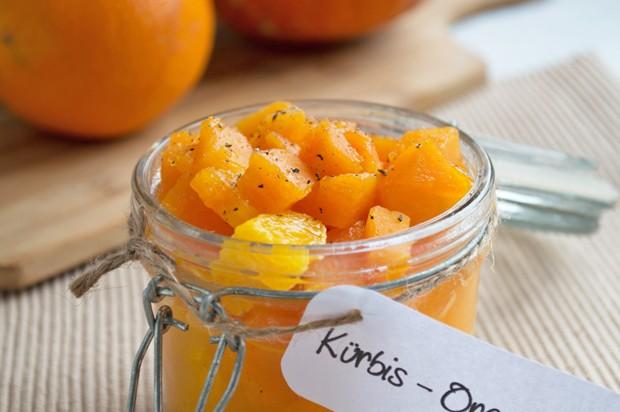 Kürbis-Orangenchutney