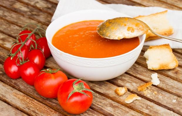 Gazpacho (kalte Gemüsesuppe)