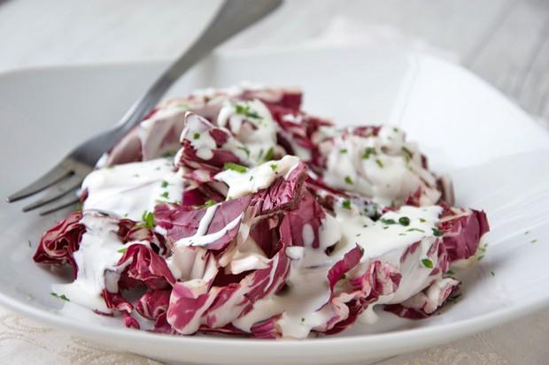 Radicchio-Salat mit Gorgonzola