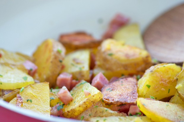 Speck-Kartoffel
