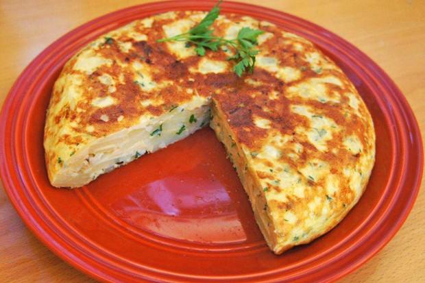 Pikante mexikanische Frühstücktortilla