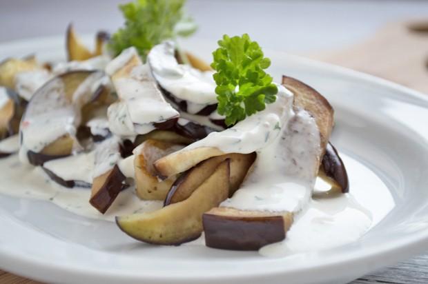 Auberginen-Salat