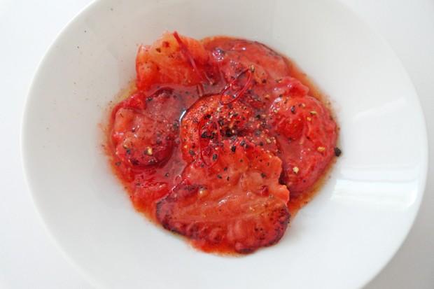 Chili-Erdbeersauce