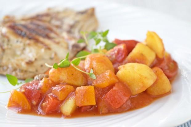 Kartoffel-Paprika-Ragout