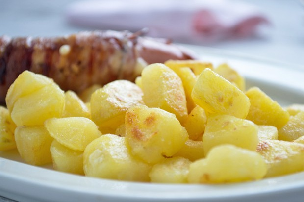 Würfelige Bratkartoffel