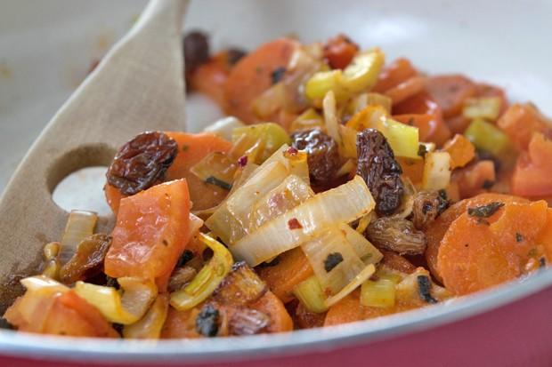 Ingwer-Karotten-Gemüse