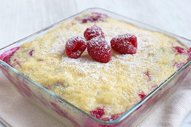 Milchreis-Kuchen