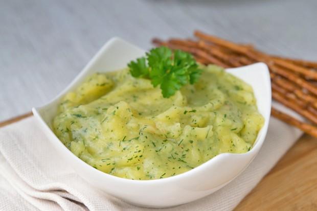 Kartoffel-Dip mit Dill